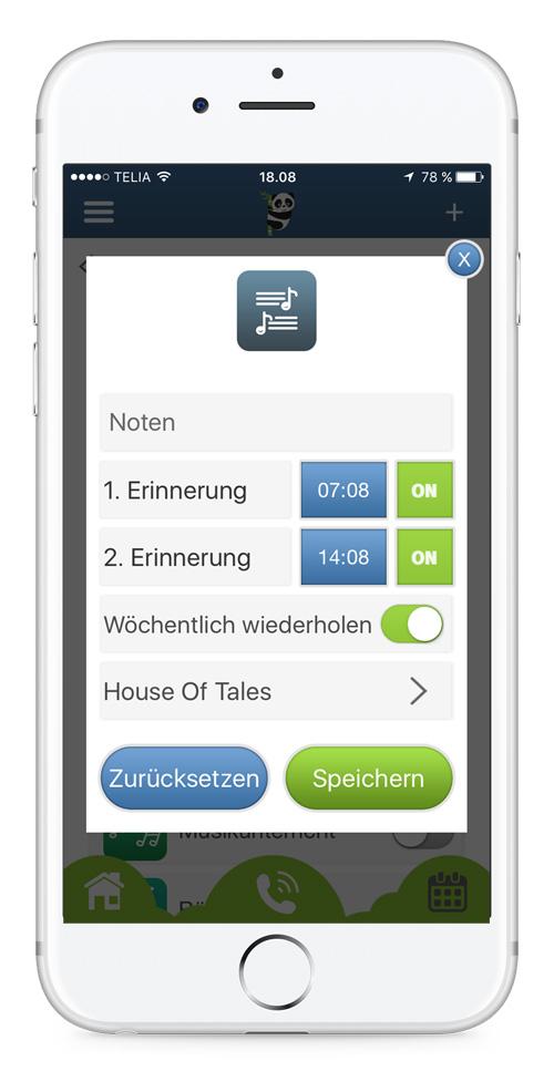 Download - Erinnerungsapplikation für Teenager und Kinder